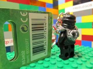LEGO Ninjago COLE minifigure Key Chain   black ninja kendo