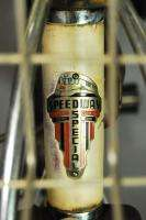 Vintage 1937 Shelby Speedway Special balloon tire bicycle bike tank
