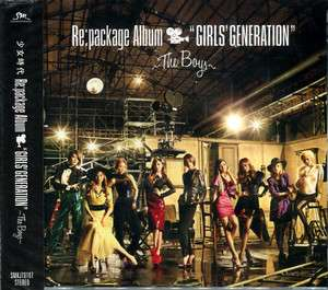 GIRLS GENERATION   Repackage Album GirlsGeneration ~The Boys~ CD