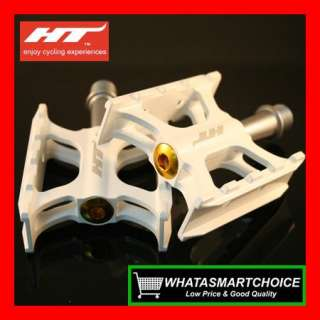 AR01 WHITE Mountain & Road & BMX Bicycle Bike Pedals