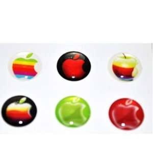 Apple Logo Home Button Sticker for Iphone 4g/4s Ipad2 Ipod