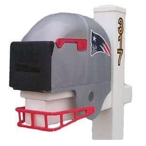 New England Patriots Helmet Mailbox