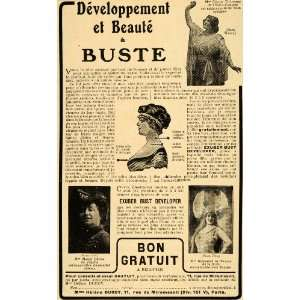 Bust Developer Opera Posture Deco   Original Print Ad Home & Kitchen