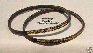 Hoover 2 Genuine 40201200 Vacuum Belts 38528 034