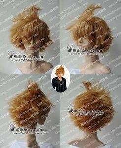 VENTUS/ROXAS Cosplay Short Blonde Brown Wigs