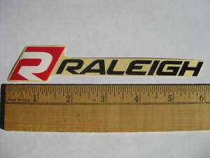 RALEIGH Mountain Road Tri Race Bike Frame Sticker Decal