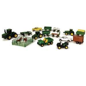 John Deere Farm Toy Vehicle Playset: Toys & Games