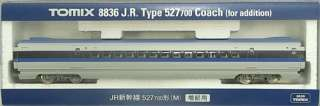 TOMIX 8836 JR Shinkansen Bullet Train Series 500 Type 527 700 Coach (M