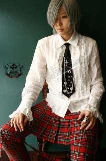 GOTHIC DOLL Kera Punk Soft Neck Tie Grommet UZI Stars A