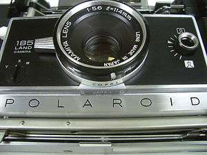 Original RARE Polaroid 185 Land Camera f114mm Mamiya Sekor New Never