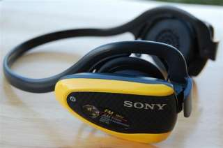 SONY Sports Walkman Wireless Headphones SRFH5 AM/FM ♠ MegaBass