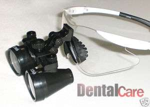 New Surgical Dental Medical 3.5X Loupes 19 500mm White