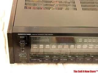 Vintage Onkyo Integra TX108 TX 108 Stereo Receiver Amplifier Amp