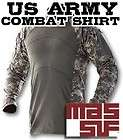 Army Surplus ACU ACS Massif Combat Shirt Flame Resistant Camo