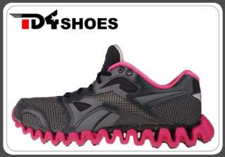 Fly 2 Black Grey Berry Red ZIG 2012 Womens Running Shoes J87911
