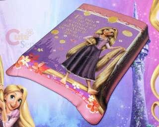 Disney Princess Tangled Rapunzel Plush Blanket  Pink Raschel Throw