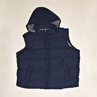 Mens Hooded Puffer Vest  Covington Clothing Mens Outerwear