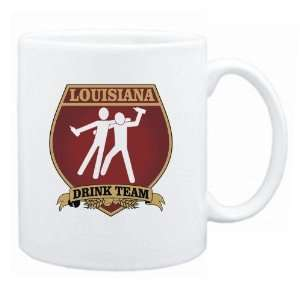 Louisiana Drink Team Sign   Drunks Shield  Mug State