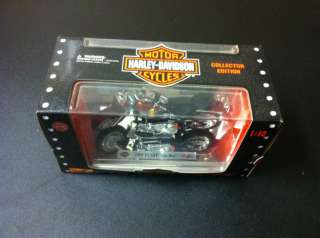Maisto HD Harley Davidson 1999 FLSTF FAT BOY 110 collectors item NIB