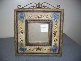 NEW PICTURE PHOTO FRAME DESK TOP METAL DECOR RUSTIC NEW
