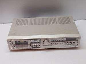 Used Broken JVC model R 5000 Stereo Cassette Receiver Tape Deck Parts