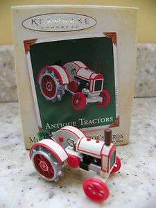Hallmark 2005 Antique Tractors Miniature Christmas Ornament Series