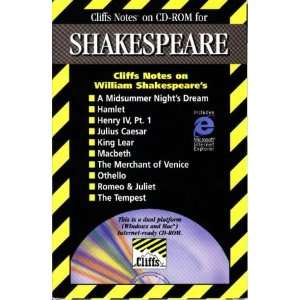 Cliffs Notes on CD Rom for Shakespeare (9780822056751