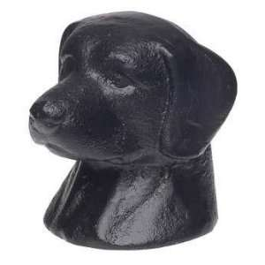 BLACK LAB dog cast iron BOTTLE top OPENER bar tool