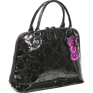 Loungefly Hello Kitty Black Embossed Bag   Black