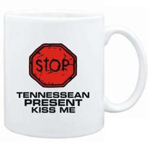 Mug White  STOP  Tennessean START KISSING  Usa States