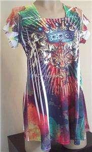 New Coqueta Maternity Womens Clothing S M L XL Multi Color Shirt Top