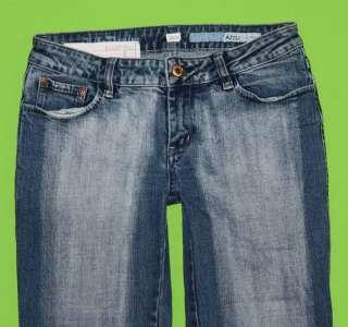 sz 27 x 31 Stretch Womens Juniors Blue Jeans Denim Pants FM12