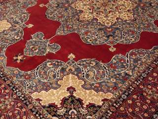 12 Beautiful Handmade High Quality New Persian Isfahan Kirk Wool