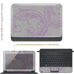 Protective Decal Skin Sticker for Dell Mini 1018 10.1