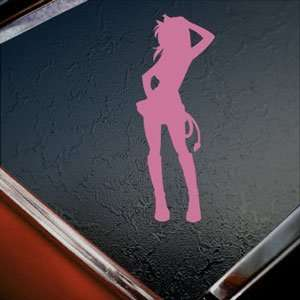 Fairy Tail Lucy Heartfilia Pink Decal Anime Cartoon Pink