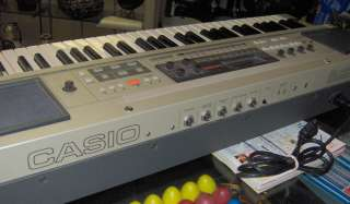 CASIO Casiotone 7000 KEYBOARD synthesizer vintage non midi synthesis
