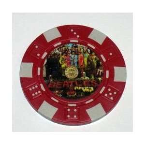 he Beales Sg. Peppers Las Vegas Casino Poker Chip
