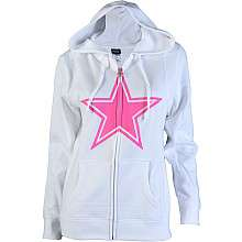 Reebok Dallas Cowboys Womens Breast Cancer Awareness Full Zip Hooded