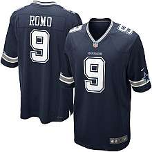 Youth Nike Dallas Cowboys Tony Romo Game Team Color Jersey (8 20