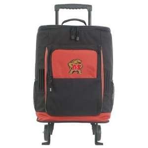 Mercury Luggage Maryland Terrapins Ripstop Large Wheeled