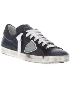 Philippe Model Distressed Trainer   Paleari   farfetch