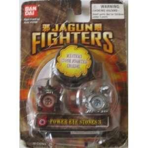 Jagun Fighters Ban Dai Power Eye Stones 3 Pack Toys & Games