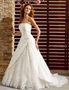 Custom made Amazing Wedding/prom Dress/Gown All Sizes
