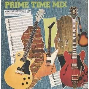 PRIME TIME MIX LP (VINYL) FRENCH TELE MUSIC 1987 STEVE MALONE Music