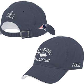 Pro Football Hall of Fame New England Patriots Arch Logo Hat