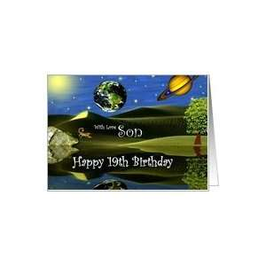 Birthday ~ Son / Age Specific 19th ~ Planet Taro Card: Toys & Games