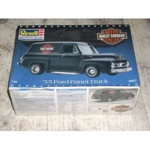55 Ford Panel Truck, Harley Davidson Motor Cycles Toys & Games