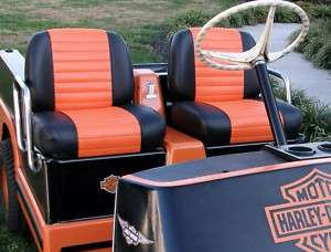Harley davidson golf cart seat