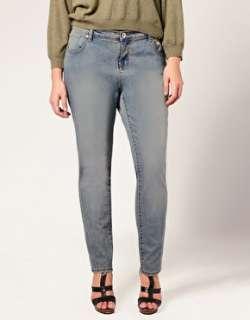 ASOS Curve  ASOS CURVE American Vintage Skinny Jeans at ASOS