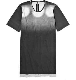 Clothing  T shirts  Crew necks  Spotlight Print T